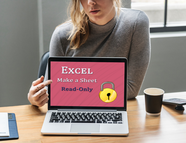How do you make an Excel sheet read only?