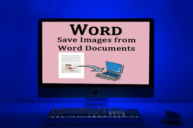 Can I copy and save an Image Out of Microsoft Word?