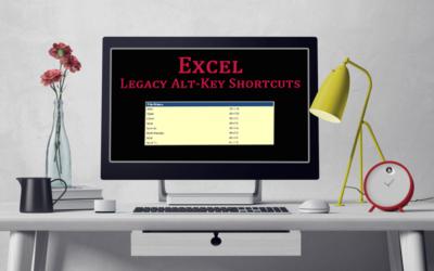 Excel Legacy Shortcuts