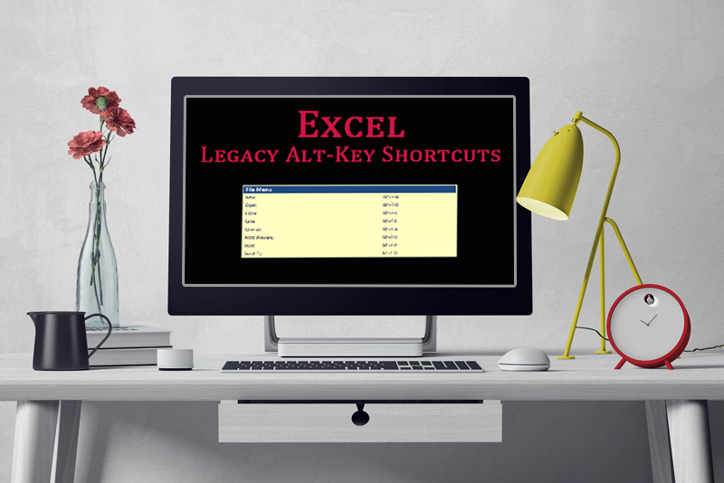 Excel Legacy Shortcuts